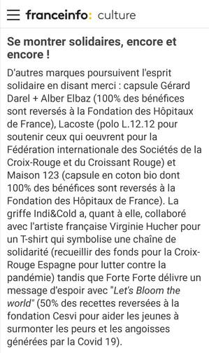 France Info Culture /Corinne Jeammet /juin 2020