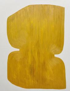 Le silence de l'arbre, juillet 2020, huile sur toile, 114x146 cm