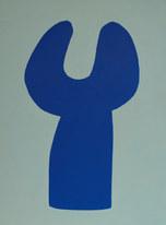 La figure du vivant 65, 2020, huile sur papier, 30x40 cm// COLLECTION PRIVEE