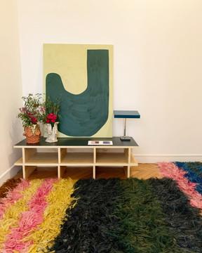 Collection printemps/été, Défilé de Colville, fondé par Lucinda Chambers, Molly Molloy et Kriss Forss, janvier 2020, Paris 6