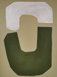 Dépression au dessus du jardin, 2020, huile sur toile, 97x130 cm