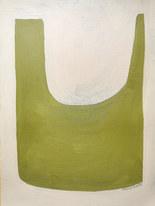 Croissance printannière, 2020, huile sur papier, 30x40 cm