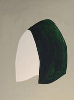 La figure du vivant 48, 2020, huile sur papier, 30x40 cm