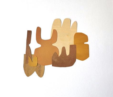 La danse inachevée 15, 2021, huile sur papier découpé, 30x27 cm, Virginie Hucher.jpg