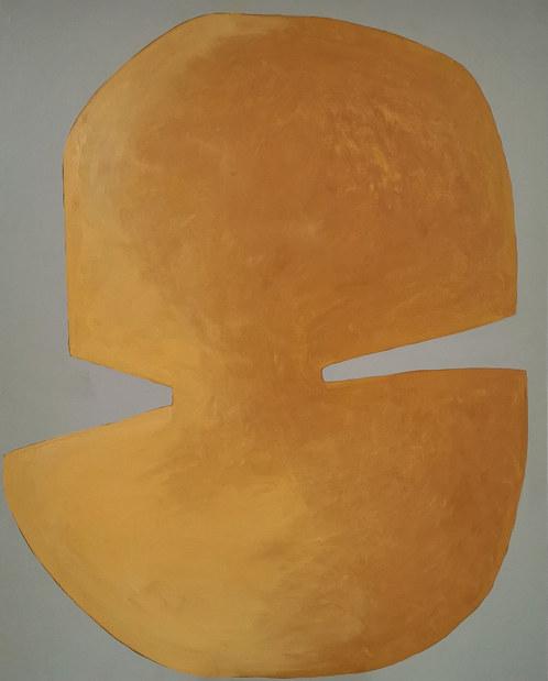 La complainte du soleil, 2020, huile sur toile, 65x81 cm