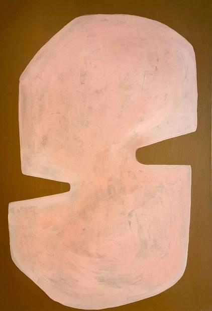 Création astrale, 2020, huile sur toile, 38x55 cm COLLECTION PRIVEE