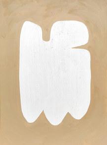 La figure du vivant 86, 2020, huile sur papier, 30x40 cm // COLLECTION PRIVEE