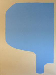 Water drop, 2019, acrylique sur toile, 97x130 cm