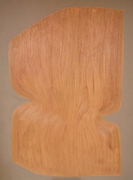 La fleur oubliée, 2020, huile sur toile, 97x130 cm COLLECTION PRIVEE