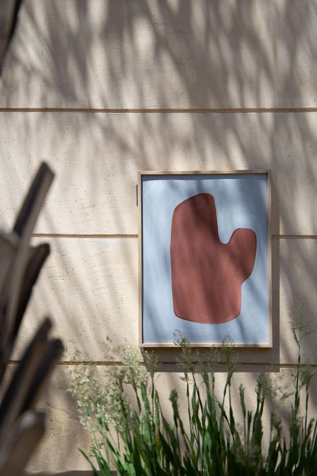 Amelie Maison d'art, jardin des plantes Paris, juillet 2020