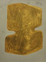 La figure du vivant 20, 2020, huile sur papier, 30x40 cm // COLLECTION PRIVÉE
