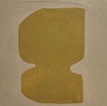Le jardin fertile 10, 2020, huile sur papier, 11x11cm