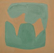 Le jardin fertile 79, 2020, huile sur papier, 11x11 cm
