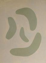 La figure du vivant 82, 2020, huile sur papier, 30x40 cm