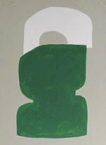 La figure du vivant 80, 2020, huile sur papier, 30x40 cm