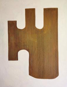 La forêt d'être, juillet 2020, huile sur toile, 114x146 cm