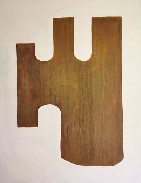 La forêt d'être, 2020, huile sur toile, 114x146 cm