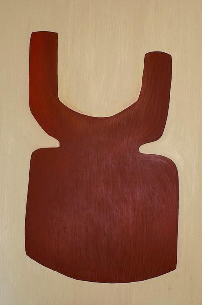 L'arbre de vie , 2020, huile sur toile, 195x130 cm