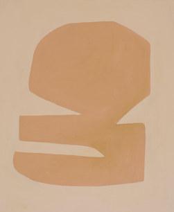 Le premier jour, 2020, huile sur toile, 38x46 cm
