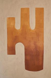 Les forêts profondes, 2020, huile sur toile, 130x195 cm