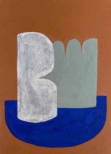 L'ombre dans l'eau, 2021, huile sur toile, 24x33 cm