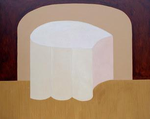 Le refuge lunaire, 2021, huile sur toile, 162x130 cm