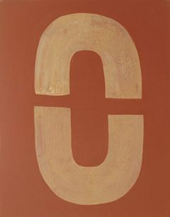 Ondulation organique 8, 2020, acrylique sur toile, 65x81 cm