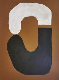 Le sacre de la terre, 2020, huile sur toile, 97x130 cm // COLLECTION PRIVÉE