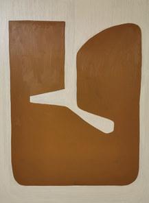 La danse de la terre, 2020, huile sur toile, 97x130 cm