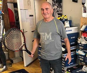 Tennis-Unterricht mit Andy