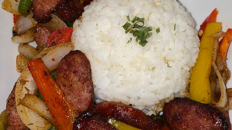 Spicy Sausage and Peppers eRecipe