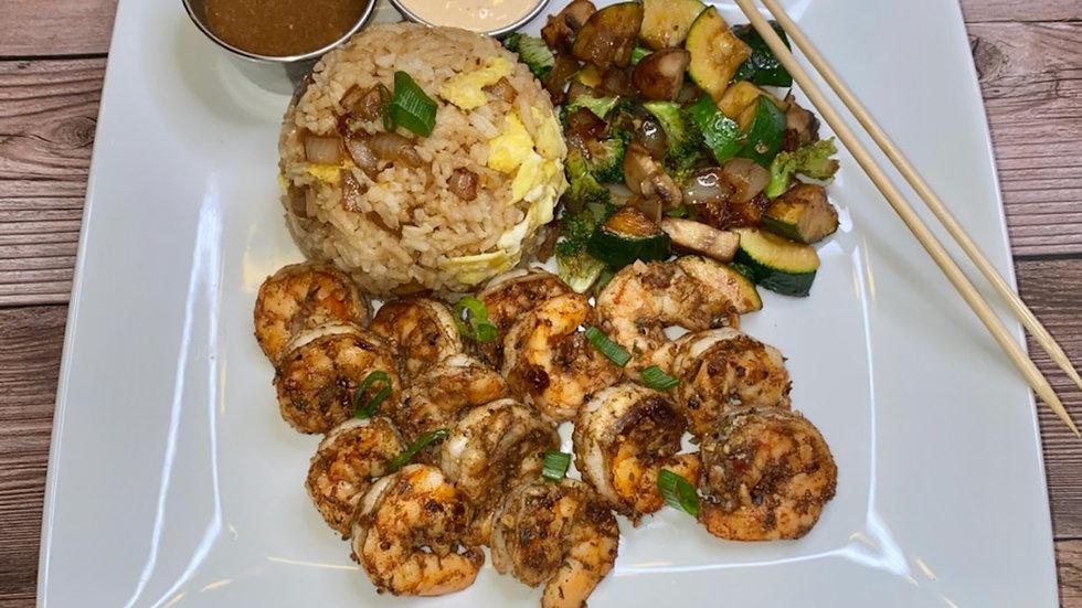 Shrimp Fire Bowl (Hibachi) eRecipe