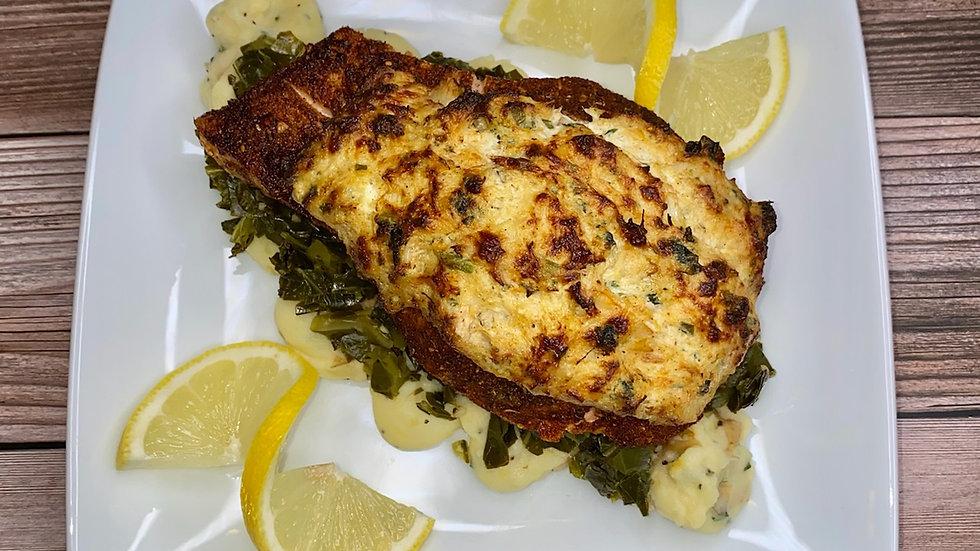 Crab Stuffed Salmon eRecipe