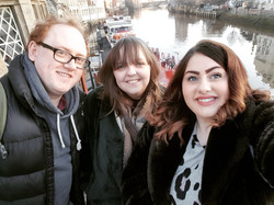 L-R: Alex, Shaunagh & Sarah