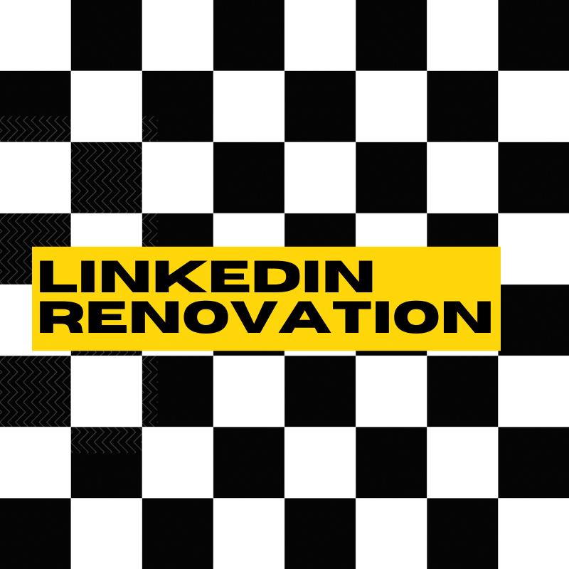 Linkedin Renovation