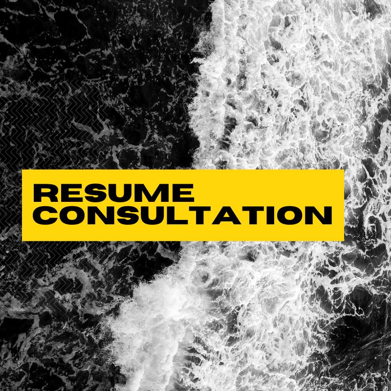 Resume Consultation