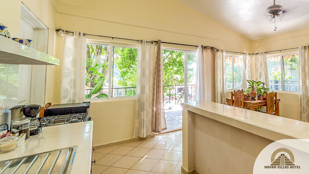 Bamboo Suite: Kitchen View