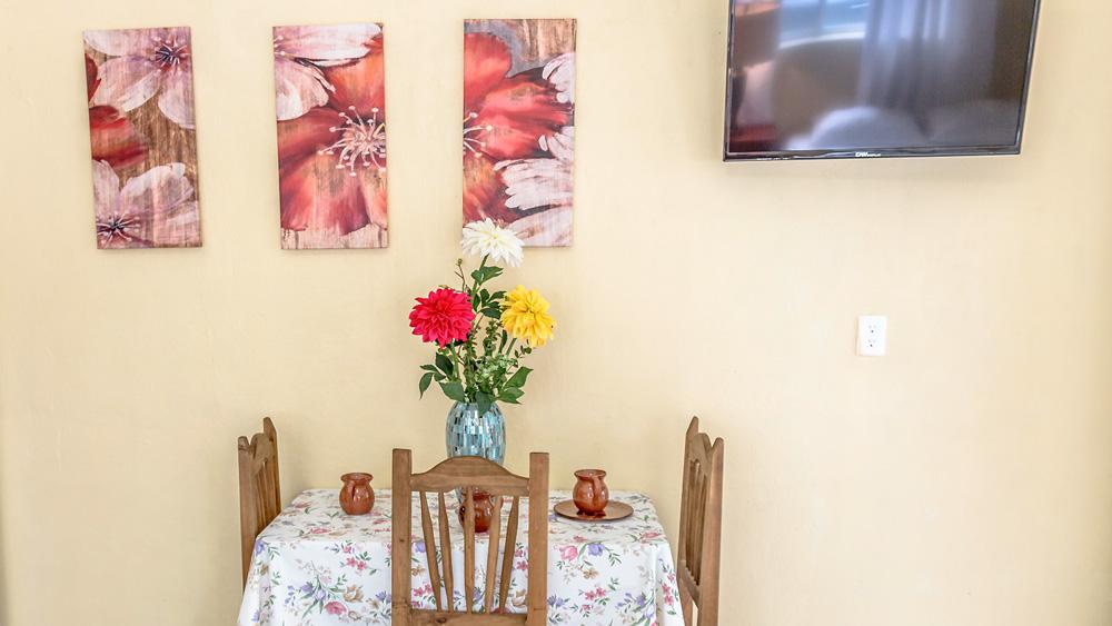Yala-Hau: Dining Table and TV