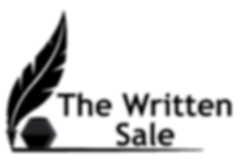 The Written Sale Black Transparent PNG.p