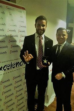 Rubén entrenador premio estrella de oro a la excelencia profesional. #rubenentrenador