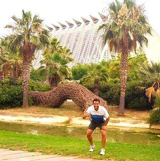 Entrenador personal en rio Turia de Valencia