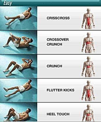 tablas de ejercicios rubenentrenador entrenador