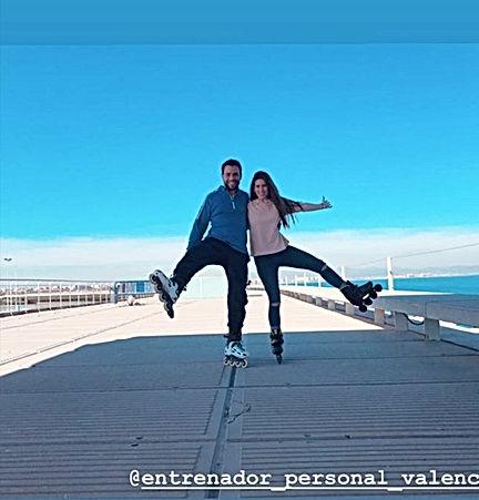 Entrenamiento Personal Valencia  en patines