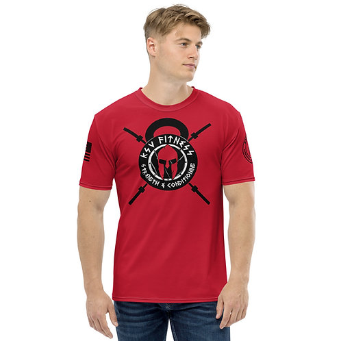 Men's T-shirt KSV Red Logo2
