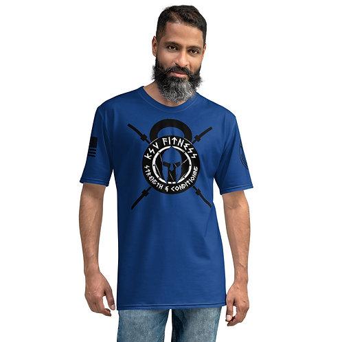 Men's T-shirt KSV Blue Logo2