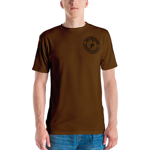 Men's T-shirt KSV Brown