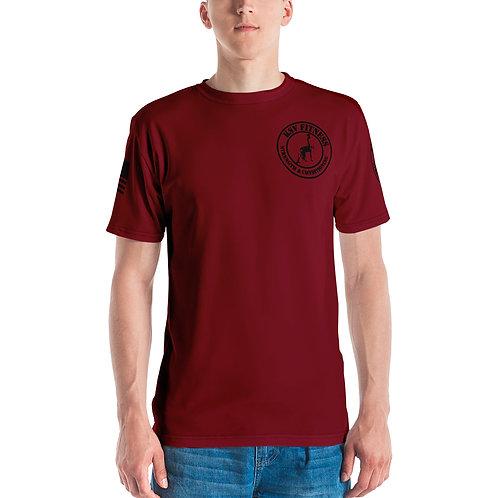 Men's T-shirt KSV Dark Red
