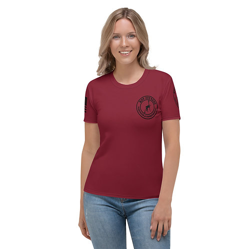 Women's T-shirt Dark Red