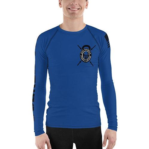 Rash Guard Blue KSV Logo 2
