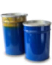 Konische Deckelbehälter 470 mm, 78 - 120